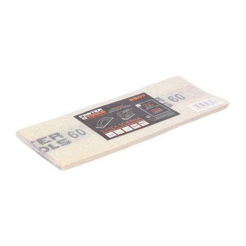 Siatka ścierna do gładzi, biała 110 x 275 mm, gr. 60 Faster Tools 8807-2
