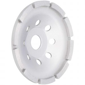 Tarcza diamentowa do szlifowania betonu, pojedynczy segment 125 mm Faster Tools 7085