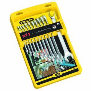 Zestaw kluczy płasko - oczkowych 11 szt. - STANLEY 94-647-4