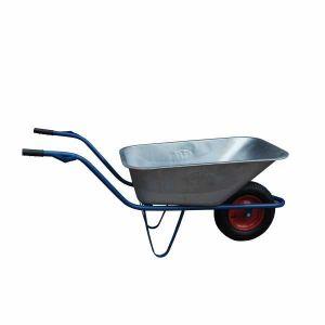 Taczka ogrodowa  100L na kole łożyskowanym ocynk - FASTER TOOLS 8972