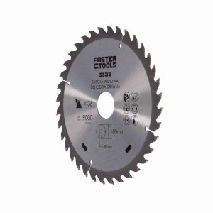Tarcza widiowa do drewna 180 x 30 mm 36 zębów Faster Tools 3322