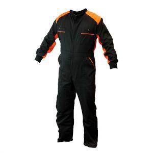 Kombinezon roboczy czarno-pomarańczowy - PROTECT2U 6013