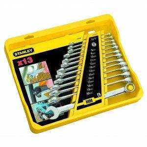 Zestaw kluczy płasko - oczkowych 13 szt. - STANLEY 94-648-4