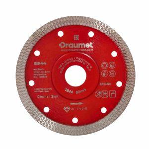 Tarcza diamentowa X-Type 125 mm 1,2 mm - DRAUMET 5944