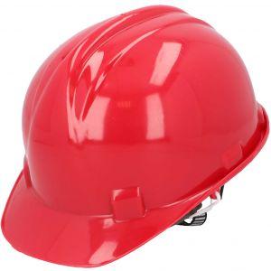 Kask budowlany ochronny, czerwony PROTECT2U 6767