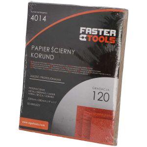 Papier ścierny (arkusz) - FASTER TOOLS 4016