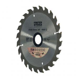 Tarcza widiowa do drewna 140 x 20 mm 24 zęby Faster Tools 1397
