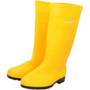 Kalosze PCV w kolorze żółtym - PROTECT2U 6821