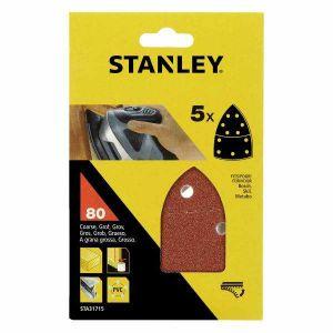 Papier ścierny do szlifierki Delta 5x80g - STANLEY FATMAX STA31715-XJ STA31715-XJ
