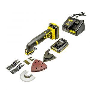 Oscylacyjne narzędzie wielofunkcyjne 18V - STANLEY FMC710D2-QW FMC710D2-QW