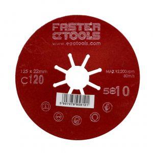 Dysk szlifierski 125 mm gr. 120 Faster Tools 5810
