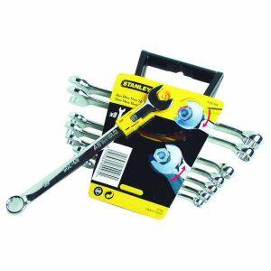 Zestaw kluczy płasko - oczkowych szybkich 8 szt. - STANLEY 89-997-4