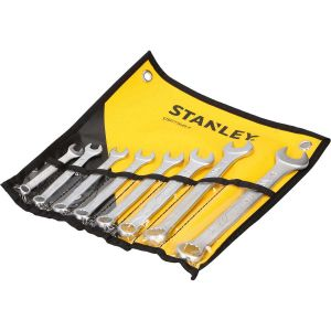 Zestaw kluczy płasko - oczkowych 8 szt. - STANLEY STMT73649-8