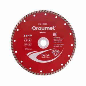 Tarcza diamentowa TURBO 230 mm - DRAUMET 3349