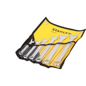 Zestaw kluczy płasko-oczkowych 6 szt. - STANLEY STMT73648-8