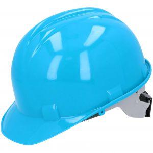 Kask budowlany ochronny, niebieski PROTECT2U 6764