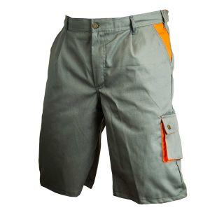 Spodnie krótkie popiel+pomar. B-228 roz. 50 BHP PROTECT2U 6464 6464