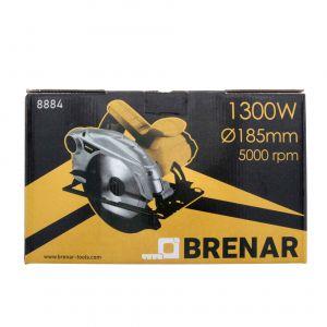 Pilarka tarczowa z prowadnicą 185 mm, 1300 W Brenar 8884-8