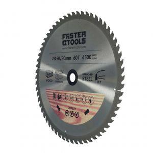Tarcza widiowa do drewna 160 x 30 mm 18 zębów Faster Tools 3320