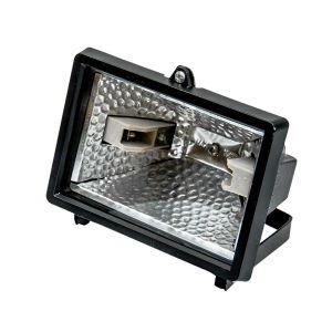 Lampa halogenowa czarna 150 W - FASTER TOOLS 1835