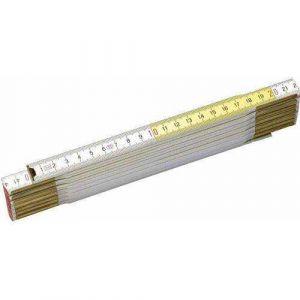 Miara składana drewniana biało - żółta - STANLEY 35-455-0