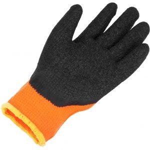 Rękawice robocze bawełniane powlekane lateksem pomarańczowe  rozm.11 PROTECT2U 8286-2