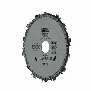 Tarcza łańcuchowa do drewna 125 mm Faster Tools 9649