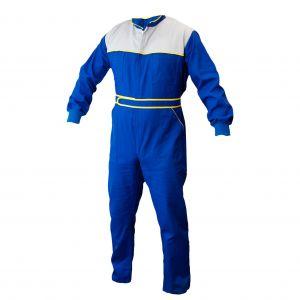 Kombinezon roboczy niebiesko-popielaty KG019 - PROTECT2U 6007