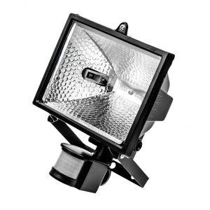 Lampa halogenowa z czujnikiem 500W - FASTER TOOLS 4511