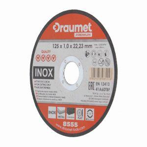 Tarcza do cięcia metalu 125 x 1,0 mm  INOX Draumet Premium 8555